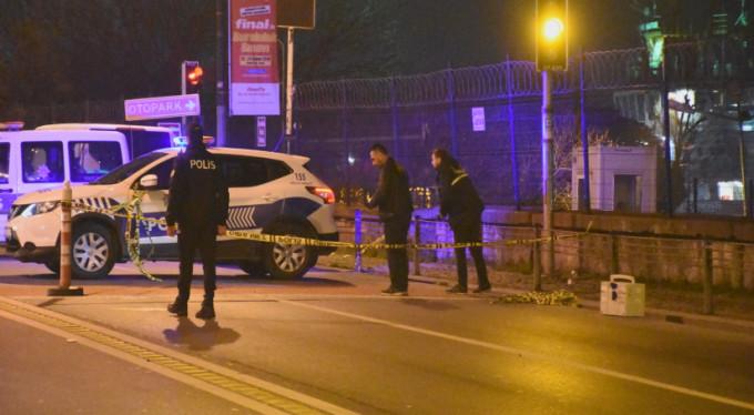 Gece kulübü önünde silahlı kavga: 1 yaralı