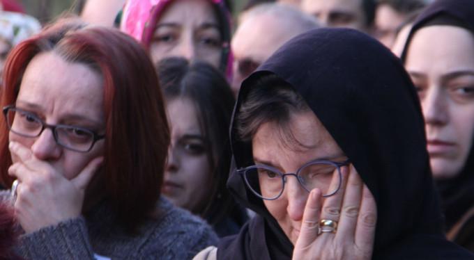 Bursa'da gözyaşları sel oldu