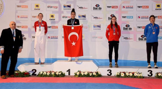 Bursalı sporcu dünya şampiyonu!