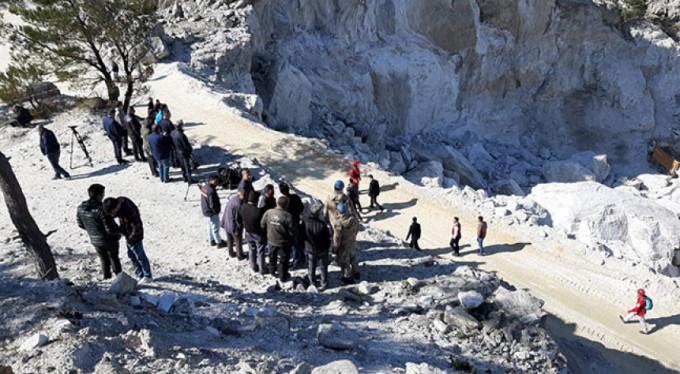 Göçen maden ocağının 'kaçak' olduğu iddiası!