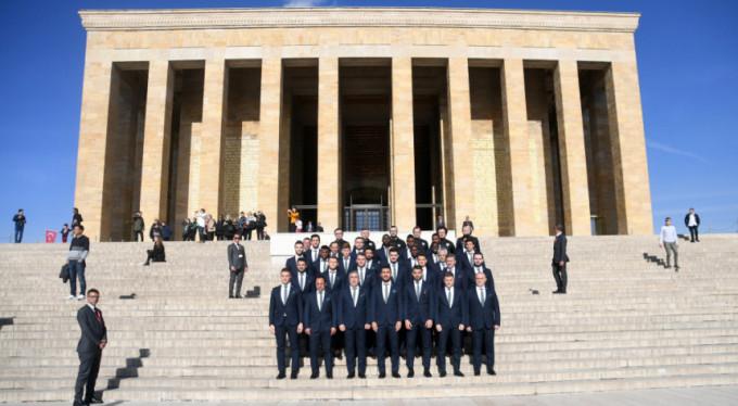 Bursaspor Anıtkabir'de!
