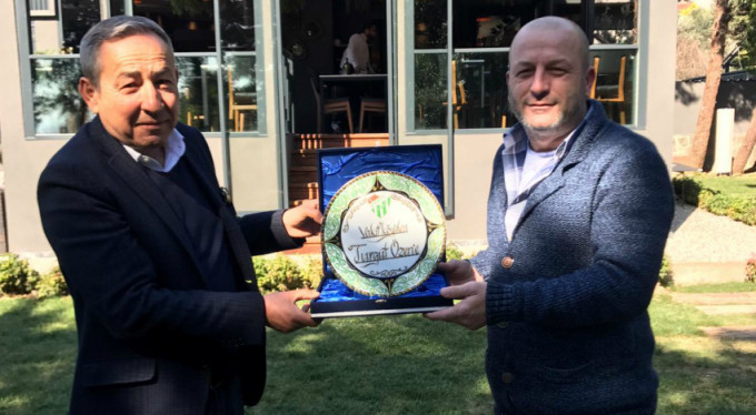Bursaspor Kulübü'nden altyapıya desteğe teşekkür