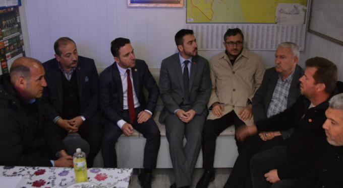Taksicilerin gözü Başkan Alinur Aktaş'ta