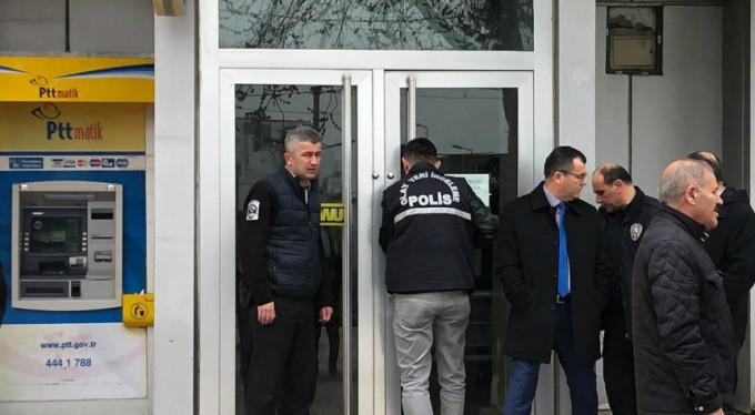 Bursa'daki maskeli soygun kamerada!