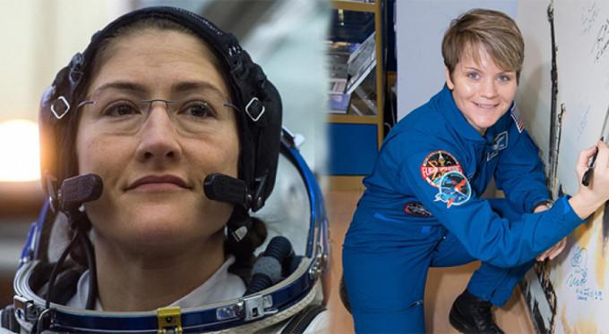 Uzay tarihinde bir ilk!