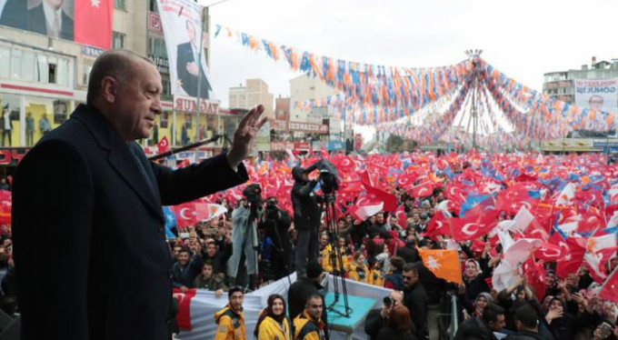 Erdoğan için böyle yollara döküldüler