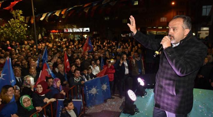 Demirtaş Alinur Aktaş'ı bağrına bastı