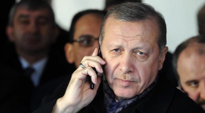 Erdoğan'dan tebrik telefonu