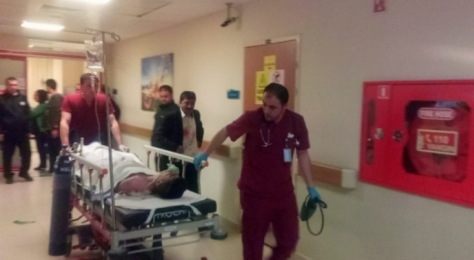 Yolcu minibüsü kaza yaptı: 1 ölü, 13 yaralı