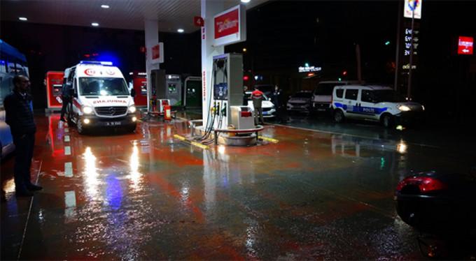 Benzin istasyonunda kavga: 3 yaralı