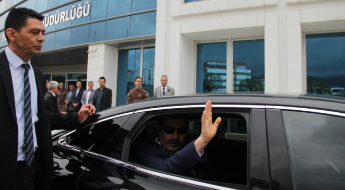 Bursa'ya böyle veda etti!