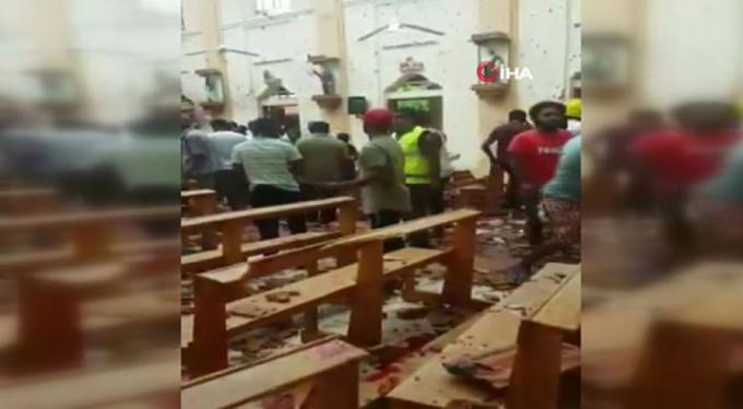 Sri Lanka'da patlama: ölü sayısı 156