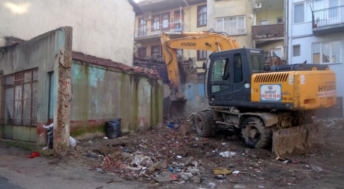 Bursa'da yıkım!