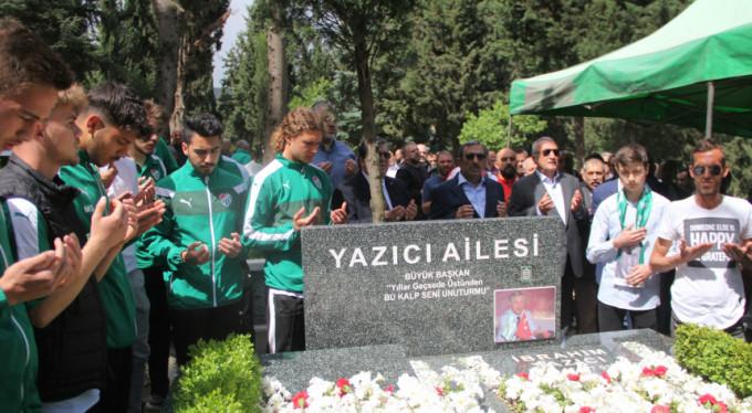 Şampiyon Başkan İbrahim Yazıcı unutulmadı