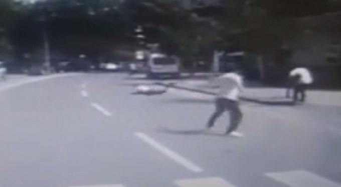 Sokak ortasında cinayet kamerada!