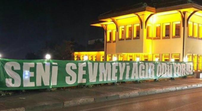 Bursaspor taraftarı ayağa kalktı!