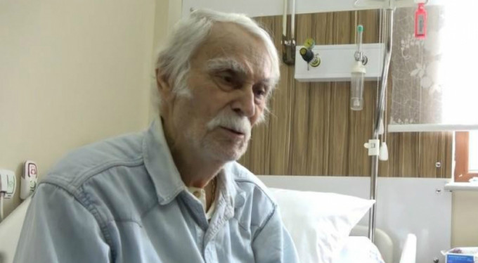Eşref Kolçak hastaneye kaldırıldı!
