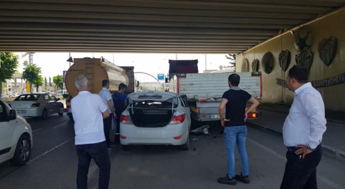 Bursa'da feci kaza!