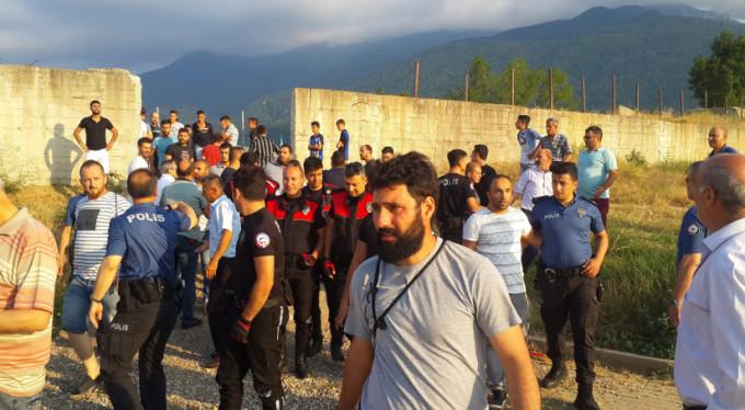 Bursa'da amatör maçta ortalık karıştı!