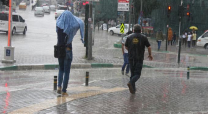 Bursalılara yağmur ve dolu uyarısı!