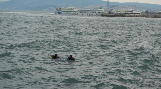 Mudanya'da denizden bakın neler çıktı!