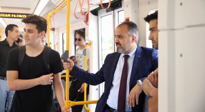 Başkan Aktaş metroda! Neler yaşandı?