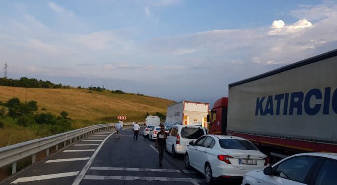 Yalova-Bursa yolunda feci kaza!