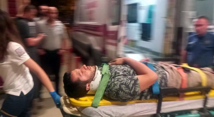 Bursa'da ölümden döndü!