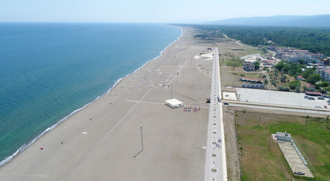 Bursa'ya Türkiye'nin en uzun plajı!