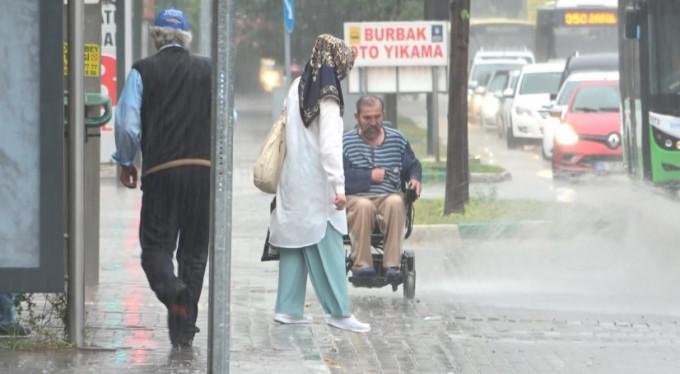 Kimse yardım etmedi! Yer Bursa...