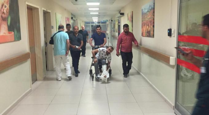 Bursa'da hastanelik oldu!