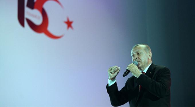 """Erdoğan: """"Ruhlarını iblise satanlar..."""""""