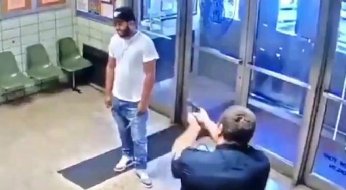 Polis merkezine girip vurulmayı istedi!