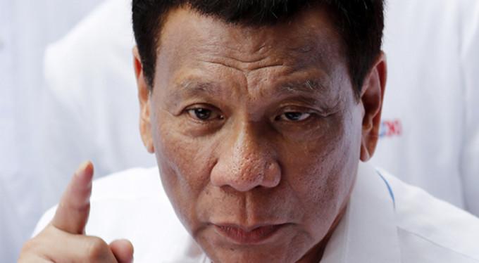 Duterte'den ABD'ye: 'Asla izin vermem'