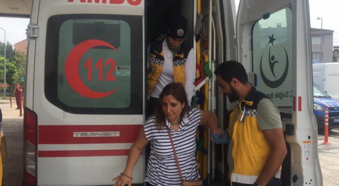 Bursa'da gurbetçi aile ölümden döndü!
