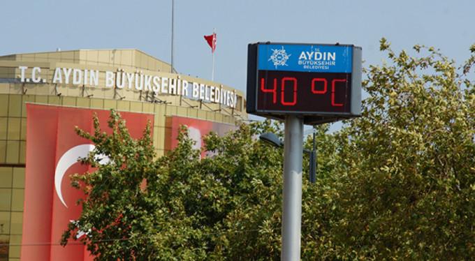 Termometreler 40 dereceyi gösterdi!