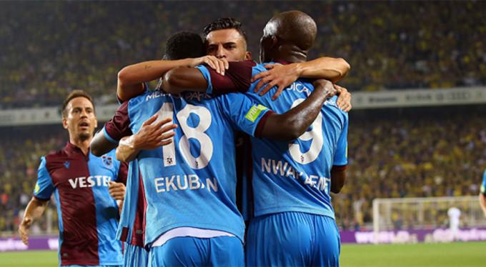 Trabzonspor'dan Süper Lig'de 15 maçlık seri