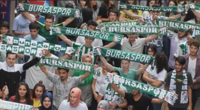 Bursaspor'a destek sürüyor!