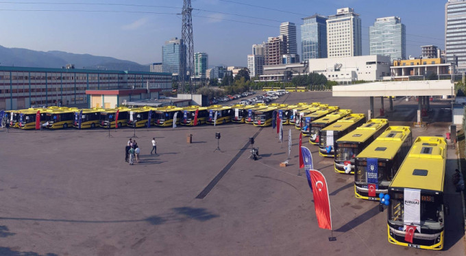 Bursa'da 1440 otobüse online takip!