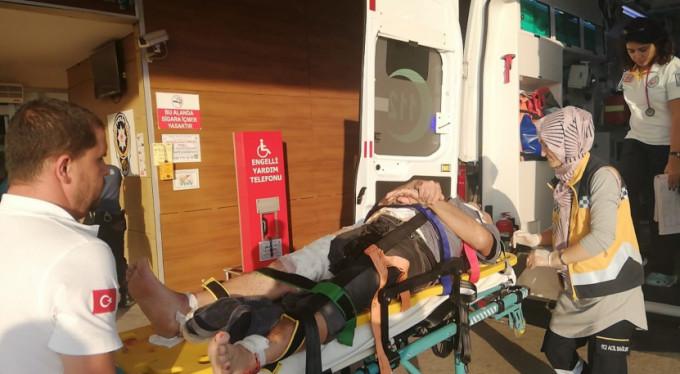 Bursa'da feci kaza! 1 ağır yaralı