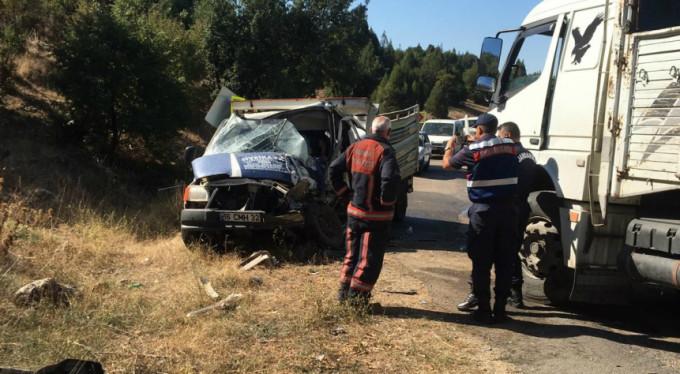 Bursa'da feci kaza! 1 ölü