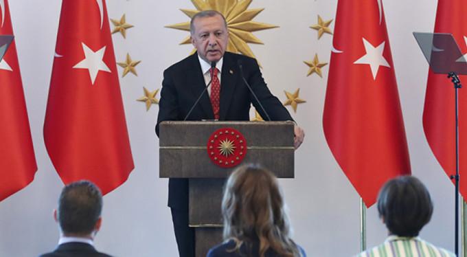 Erdoğan'dan güvenli bölge açıklaması