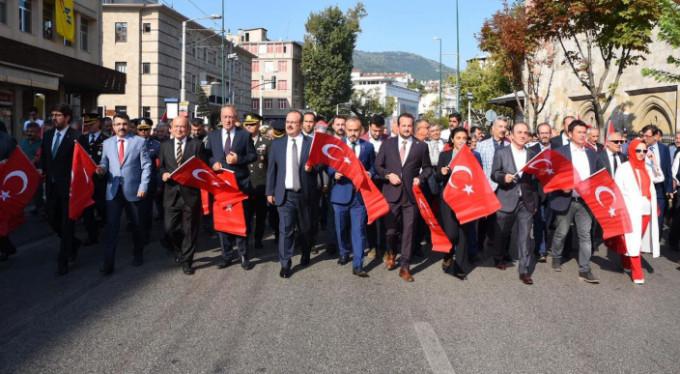 Bursa'da kurtuluş coşkusu!
