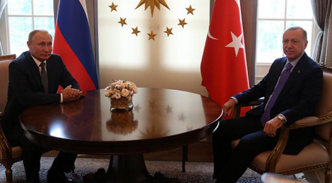 Putin zirve için Türkiye'de!
