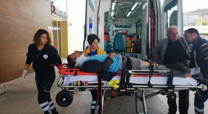 Bursa'da feci kaza! Yaralılar var...