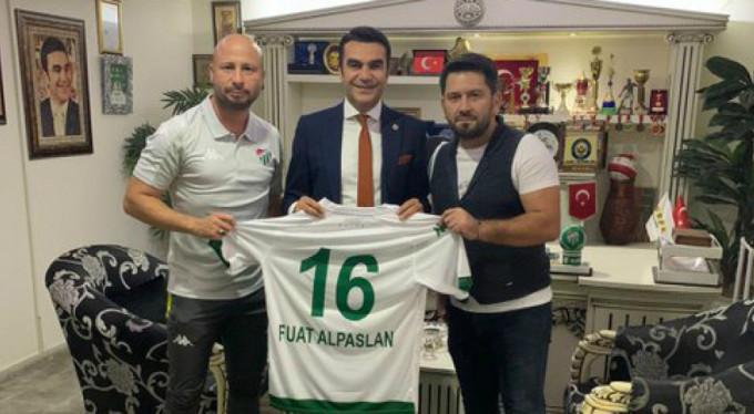 Bursaspor Futbol Akademisi'nden teşekkür ziyareti