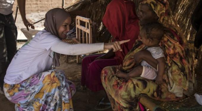Gamze Özçelik Sudan'da