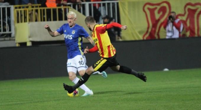 Fenerbahçe, Göztepe'ye takıldı: 2-2