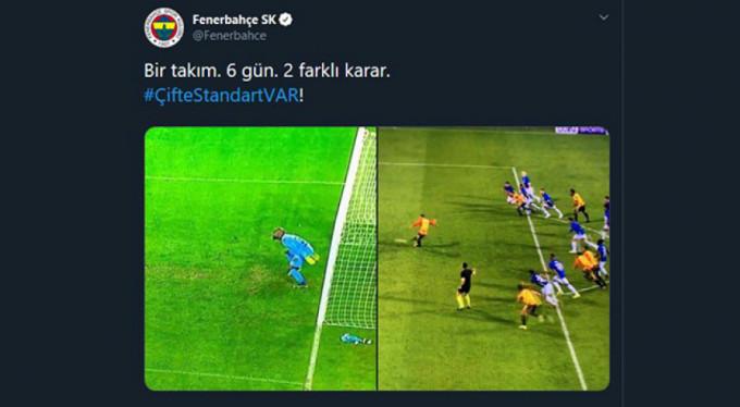 Fenerbahçe: 'Çifte standart var'