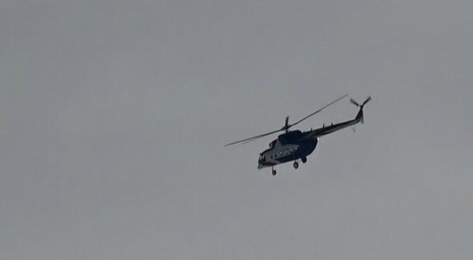 Uludağ'da devreye helikopterler girdi!